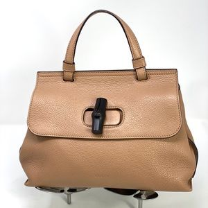 Gucci Bamboo Daily Top Handle Purse.